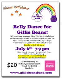 Belly Dancing for Gillie Beans